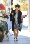 Selma Blair - walking her dog Ducky in Beverly Hills November 11-2015 x11