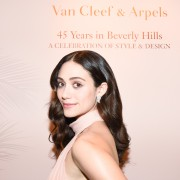 Emmy Rossum-  Van Cleef & Arpels Boutique Beverly Hills November 11th 2015.