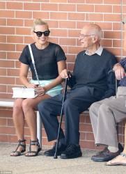 Margot Robbie - Attending Church in Australia 11/15/15