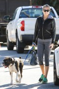 Kate Upton - Walking her dog in Beverly Hills 11/17/15