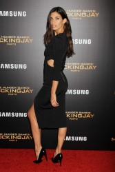 Sara Sampaio - The Hunger Games Mockingjay Part 2 Screening in NYC 11/18/15