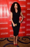 Natalie Gumede - Winter Comedy Gala in aid of ActionAid, London, 17-Nov-15