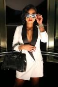 "Christina Milian -  ""Like Me"" Music Video Set Los Angeles November 21st 2015"