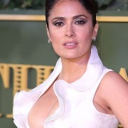 Salma Hayek Evening Boobs