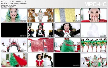 Katy Perry - New H&M Commercial - Holidays 2015 - *BTS Interview Added*