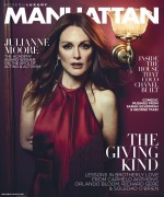 Julianne Moore -    Modern Luxury Magazine November 2015 Covers.