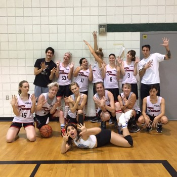 Aubrey Plaza & the Pistol Shrimps - LA Women's Rec League Basketball Team