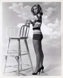 Elizabeth Montgomery - Bert Six Photoshoot in the 1950's