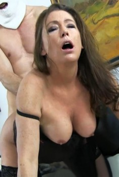 Swedish Mature Anal Slut Cecilia Cover