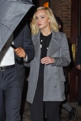 Jennifer Lawrence - Leaving her hotel in NYC 11/28/15