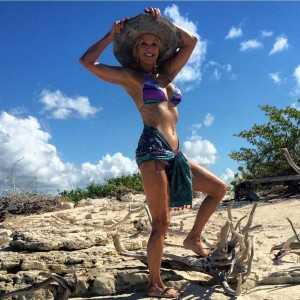 Christie Brinkley - Bikini Instagram pic November 2015