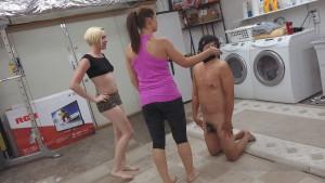 MenAreSlave - Lady Edyn, Princess Miley - Go Do The Laundry