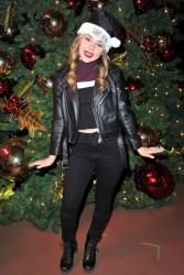 Brec Bassinger - Knott's Merry Farm Countdown to Christmas & Tree Lighting 12/05/15