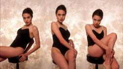 Angelina Jolie, Claire Danes, Hilary Duff, Lena Gercke, Nina Dobrev, Sylvie Meis (Wallpaper) 9x