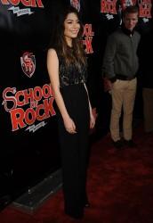 "Miranda Cosgrove - ""School Of Rock"" Broadway opening night 12/06/15"