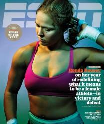 Ronda Rousey - ESPN Magazine December 2015