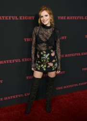 Bella Thorne - Premiere of 'The Hateful Eight' in Los Angeles - 12/07/2015