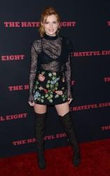 """MEGA POST: Bella Thorne con espectaculares botas en el estreno de """"The Hateful Eight"""" en Los Angeles (7/12/15) D83241451548662"""