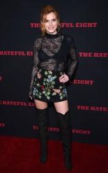 """MEGA POST: Bella Thorne con espectaculares botas en el estreno de """"The Hateful Eight"""" en Los Angeles (7/12/15) 640ae7451555371"""