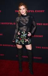 """MEGA POST: Bella Thorne con espectaculares botas en el estreno de """"The Hateful Eight"""" en Los Angeles (7/12/15) C76a54451555365"""