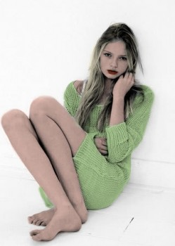 Romee Strijd - Nice colored Picture - x 1
