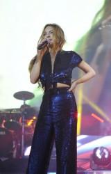 Lindsay Lohan - Performing at O2 Arena in London 12/8/15
