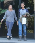Zoe Saldana seen with a friend in Beverly Hills - December 9-2015 x19