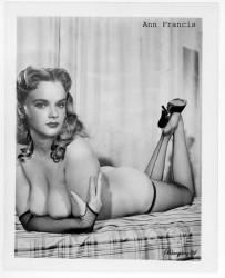 Ann Francis Nude