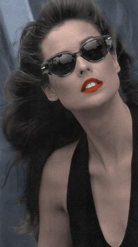 Carol Alt - Cute Colored Picture - x 1