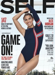Alex Morgan in Self magazine x4 MQ