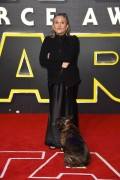 Carrie Fisher - European premiere of 'Star Wars: The Force Awakens', London 16.12.2015