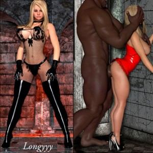 JENNY POUSSIN from Longyyy and Zzomp