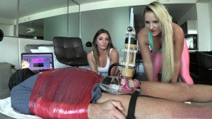 BratPrincess - Cali and Mia - Broke Sugar Daddy Milked for Profit Part 1