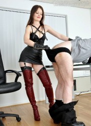 FemmeFataleFilms - Mistress Arella - Who's the Boss? part 1-2 update