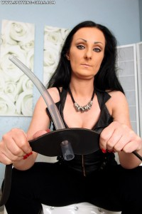 Spitting-Girls - Mistress Luciana - You are my waste-pipe!