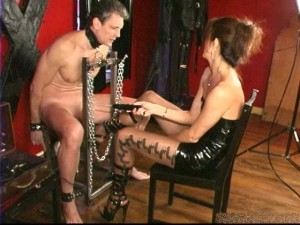 BestFemdom - Mistress Elizabeth - Shocked and Stroked