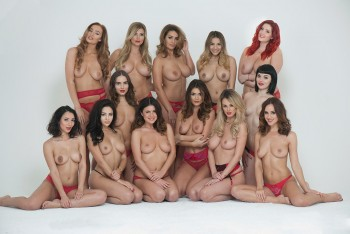 "Rosie Jones,Holly Peers & Co ""Page 3 Merry Christmas"" ( 4x ) 0525d2454592900"