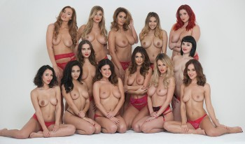 "Rosie Jones,Holly Peers & Co ""Page 3 Merry Christmas"" ( 4x ) 90ec5d454592897"