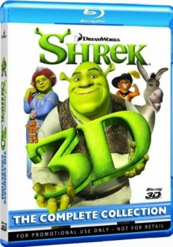 Shrek Collection 3D (2001-2010) [4 Blu-Ray 3D] Full Blu-ray 3D ISO AVC ITA DD 5.1 ENG TrueHD 7.1 MULTI