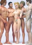 GANGBANG 3d art FROM BELZAPH
