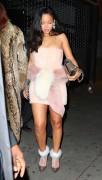 Rihanna - At Sono Nightclub in NYC 12/31/15