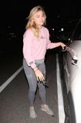 Chloe Moretz - In spandex leaving dinner in Brentwood March 8, 2016