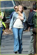 Miley Cyrus - Filming Woody Allen's Upcoming Amazon Series in NY 3/16/16