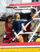"Kelly Rohrbach | On the Set of ""Baywatch"" in Miami 