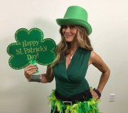 Nia Peeples - St. Patrick's Day Instagram pics 17.3.2016 x2