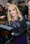 Melissa Rauch -     AOL Build New York City March 17th 2016.