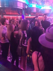 Taylor Swift - at the Omnia nightclub in Las Vegas 03/18/16