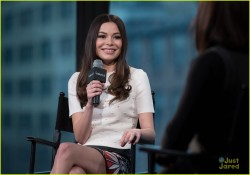 Miranda Cosgrove - AOL Build 3/18/16