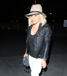 Hilary Duff - Leaving Justin Bieber's Concert in LA 3/21/16