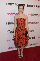 Emmy Rossum - 'Shameless' Screening & Panel Discussion in West Hollywood 3/22/16